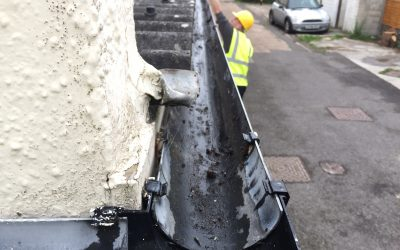 Gutter Cleaning in Hastings